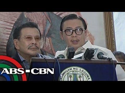 Bandila: ER Ejercito leaves Laguna capitol after Erap visit