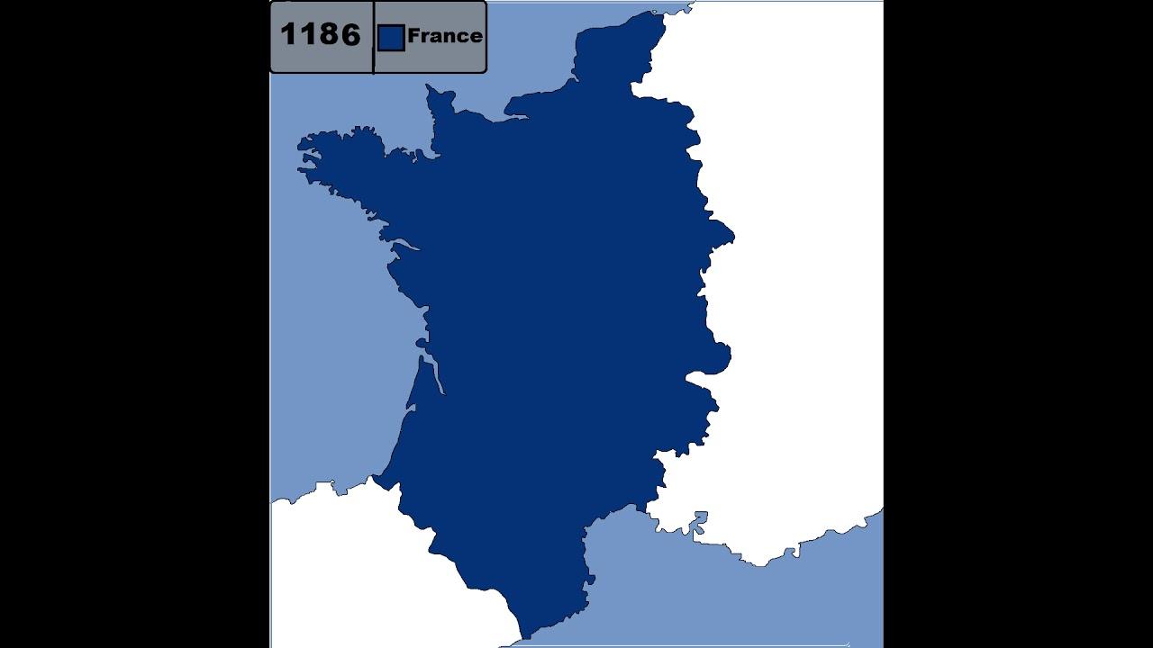 Map France 987.France 987 1191 Youtube
