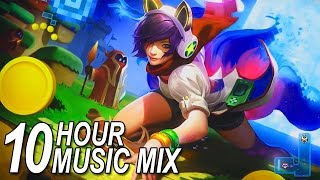 10 HOUR Mega Mix • Best Music for Gaming 2017 • EDM: Future Bass, Dubstep, Trap, etc. 2017 Video