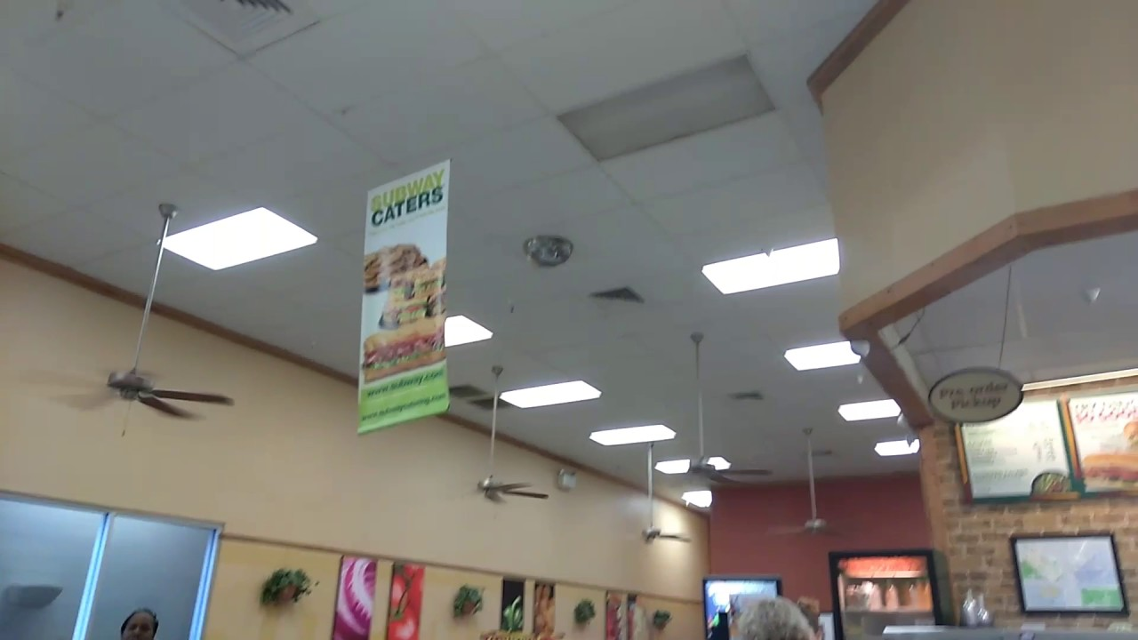 6 52 Quot Hampton Bay Cater Ceiling Fans At Subway Inside