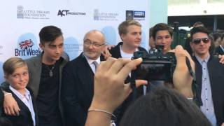 Phil Collins - Red Carpet Walk - Little Dream Foundation Gala - March 11, 2016 - Miami, FL