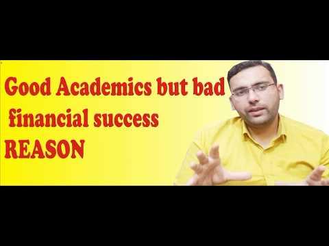 Good Academics but bad financial success REASON|by Syed Abuzar in Hindi