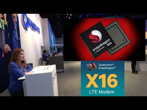 Qualcomm Snapdragon 835 enables Gigabit LTE, 4K60p 360 live stiching, 6-degrees VR at CES 2017