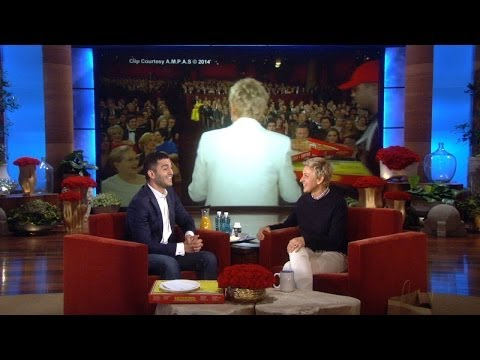 Ellen's Oscar Pizza Guy Gets His Tip