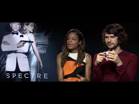SPECTRE Pop Quiz with Naomie Harris and Ben Whishaw