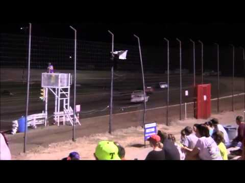Pure Stocks at Lubbock Speedway 7-24-15