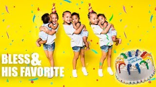 FAMILY VLOG | Party Time!! | Bless celebrates his kid Aunt Birthday