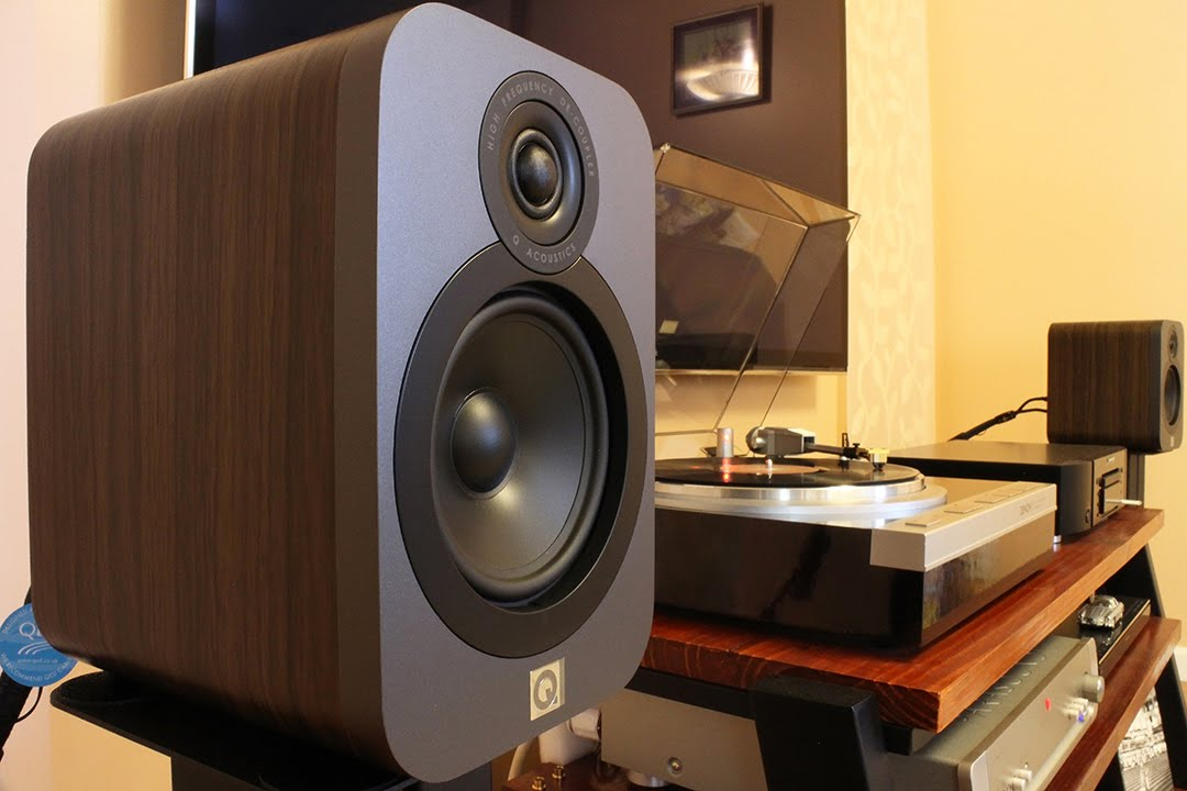 Q Acoustics Q3020 Bookshelf Speakers Sound Demo Pop Youtube