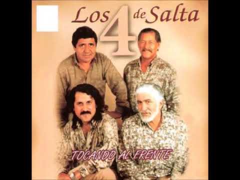Los 4 de Salta - Tocando al frente  (1995)