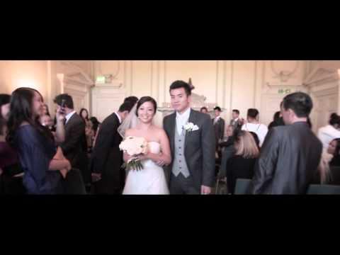 英国华裔感人婚礼电影 - 新郎感动落泪 | Sam + Mi
