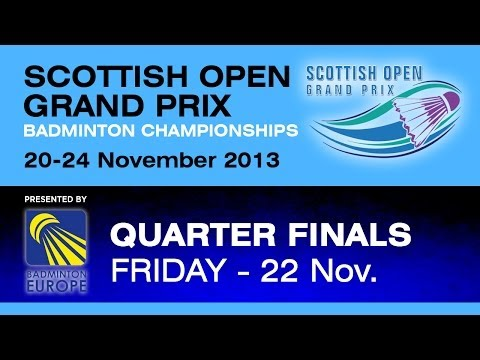 QF - MS - Ville Lang vs Kwong Beng Chan - 2013 Scottish Open Grand Prix