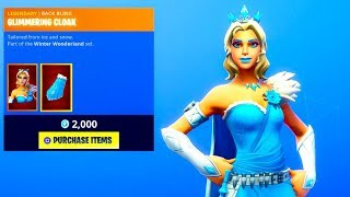"*NEW* SNOW QUEEN SKIN! ""Glimmer"" (New Item Shop) Fortnite Battle Royale"