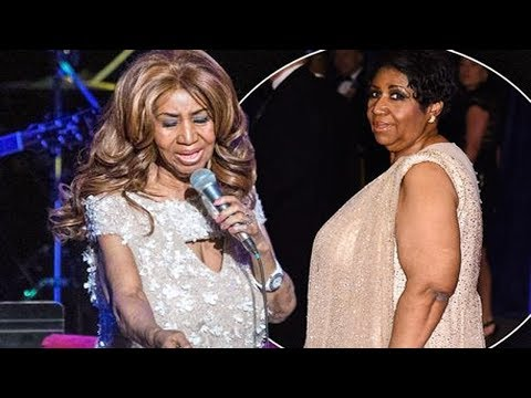 Aretha Franklin Looks Completely Different With Trim Figure At One Of Her Last Shows