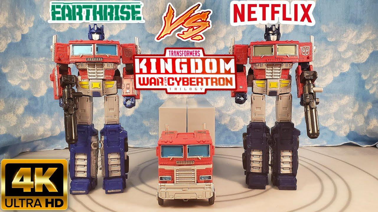 Download KINGDOME OPTIMUS VS EATHRISE OPTIMUS VS NETFLIX OPTIMUS COMPARISON, Which is the Best WFC G1 Prime?