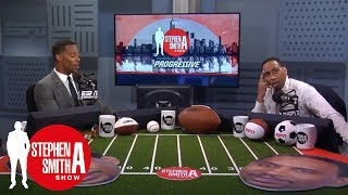 Stephen A. calls out Victor Cruz for Giants 2018 prediction | The Stephen A. Smith | ESPN