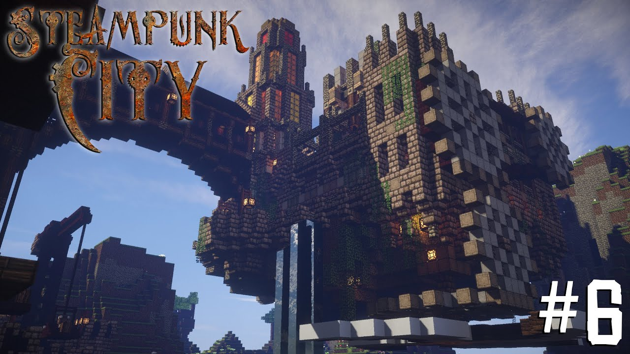 Minecraft Steampunk City - Let's Build It! #6 [Imperial ...