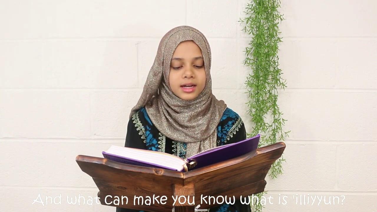 Download 😢💔Juz 30: Surat Al-Mutaffifin (# 83) by Maryam Masud