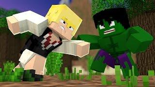 Minecraft: MELIODAS VS HULK 😡 - Super Heroes PvP ‹ Ine ›