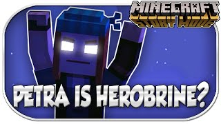 petra is herobrine minecraft story mode order of the stone ep 1 ep 3