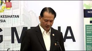 [LIVE] Sidang media situasi semasa Covid-19 oleh Ketua Pengarah Kesihatan Malaysia.