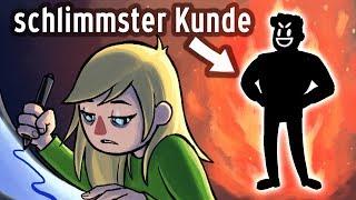 Mein schrecklichstes Kundenerlebnis Story Animation