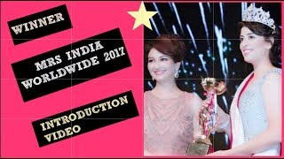 Baixar Mrs India Worldwide Winner | introduction | beauty pageant | Indian YouTuber
