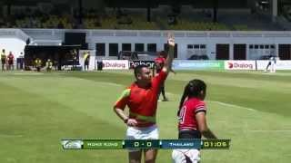 Hong Kong vs Thailand ( Women Pool W)