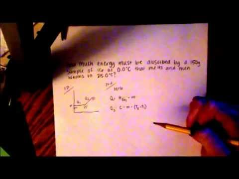 Chemistry Quantitative Energy Problems - YouTube