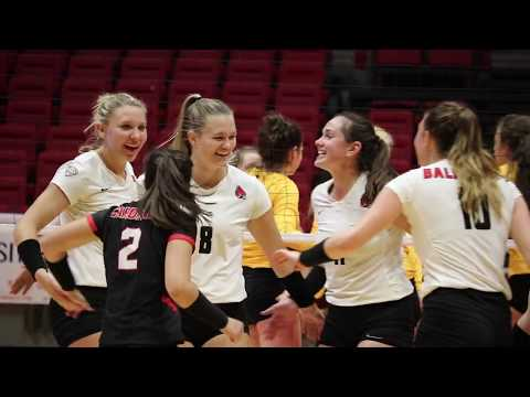 Ball State Women's Volleyball Vs Central Michigan