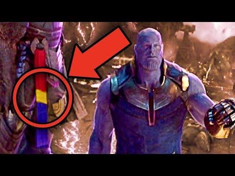 Avengers Infinity War CAPTAIN MARVEL EASTER EGG? (Black Order Theory)