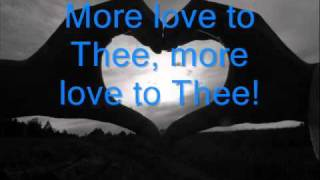 more love to thee, fernando ortega