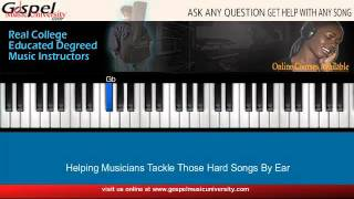 The Presence Of The Lord Is Here - Piano Tutorial Part 1