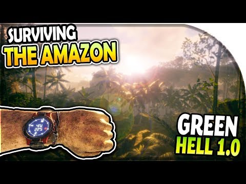 GREEN HELL 1.0 (Huge Update) - Story Mode Survival Part 1