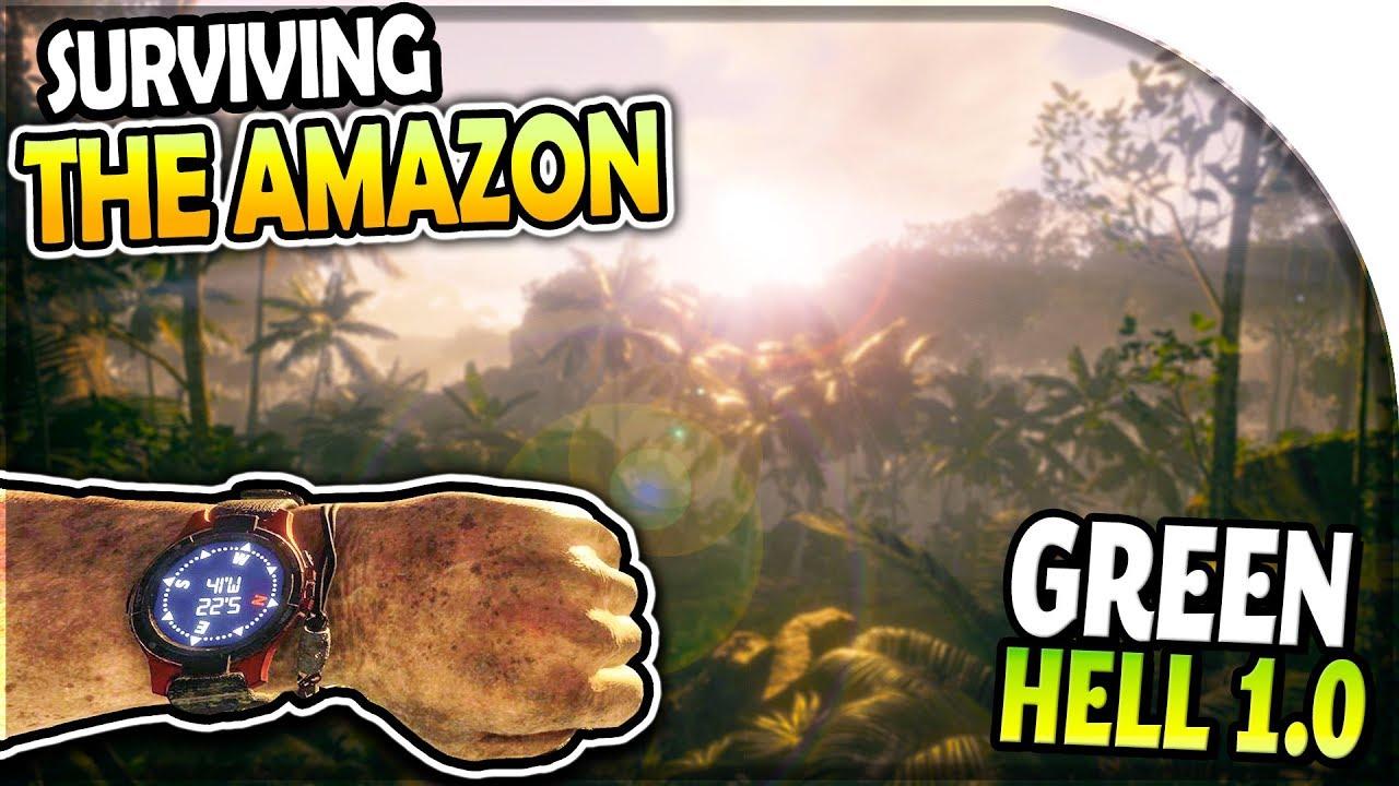 GREEN HELL 1 0 (Huge Update) - Story Mode Survival Part 1