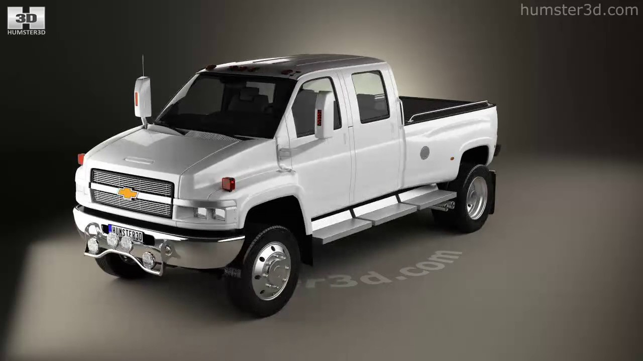 Chevrolet Kodiak C4500 Crew Cab Pickup 2006 3D model by ...
