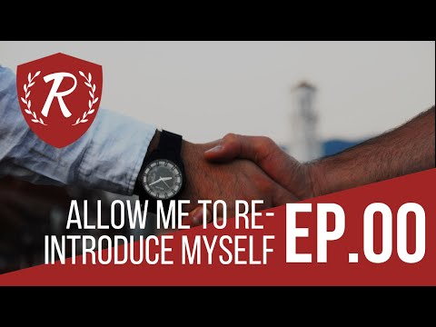 Allow Me To Re-Introduce Myself…