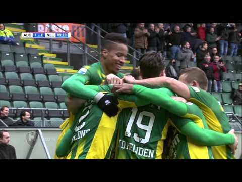 Goal Dion Malone (ADO Den Haag - NEC)