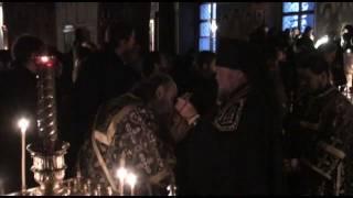 Прощеное воскресенье в Оптиной Пустыни, 2012 г.(Чин прощения. Фотографии и проповедь: http://www.optina.ru/photogallery/misc/260212/, 2012-02-26T19:35:15.000Z)