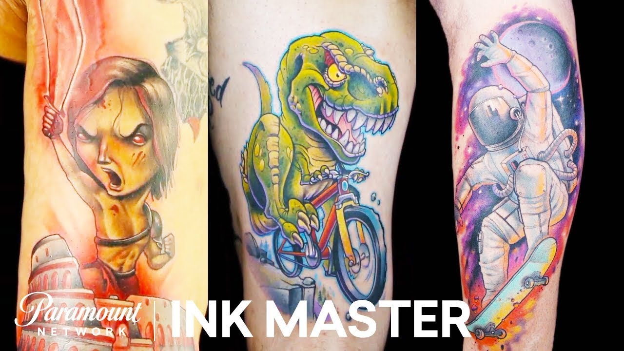 Best New School Tattoos Mashup Ink Master