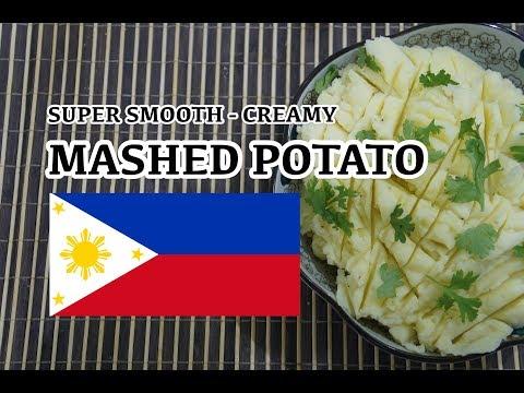 How to make Mashed Potato Recipe - Tagalog Pinoy Filipino