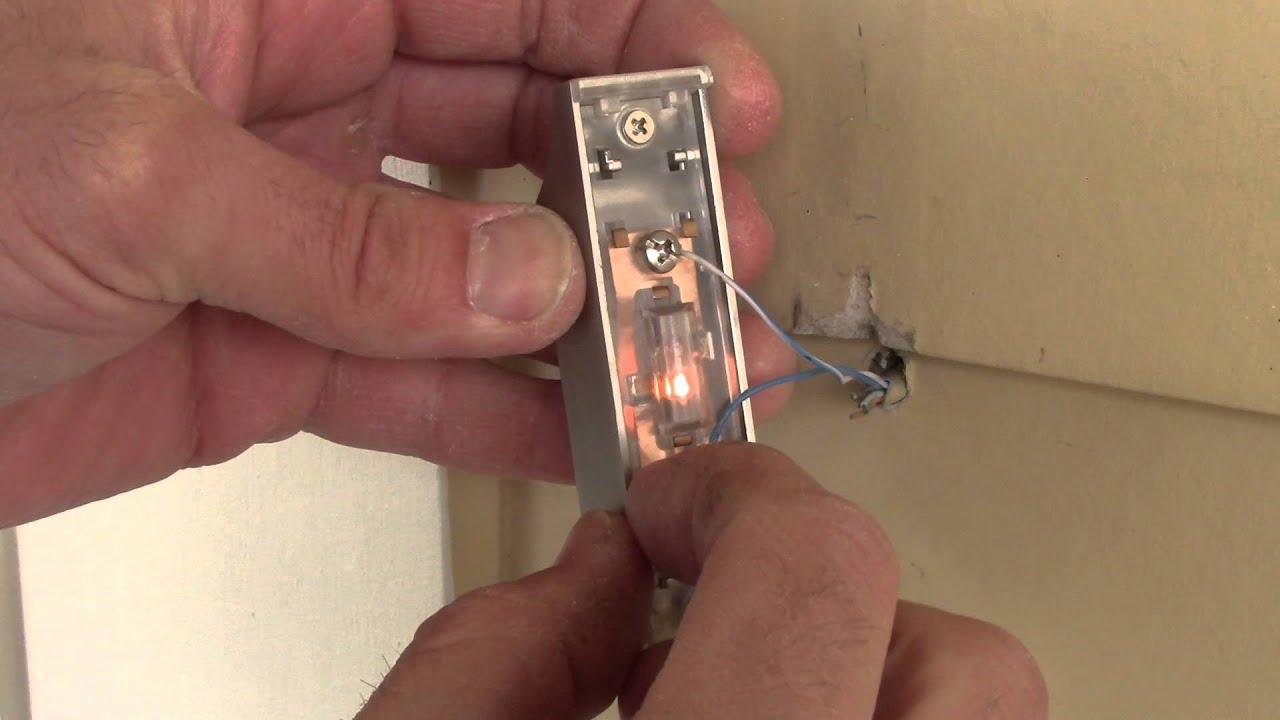 medium resolution of doorbell button how to replace and install youtube doorbell button how to replace and install
