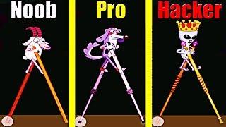 Walk Master! PRO vs NOOB in Walk Master EVOLUTION! Pika Guyy