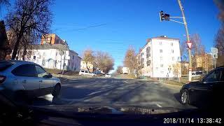 Проезд по встречке. Саранск