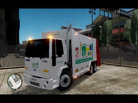 GTA IV : Truck -Ford Cargo  coletor de lixo