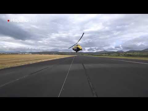 Vea el aparatoso primer vuelo de un auto volador casero
