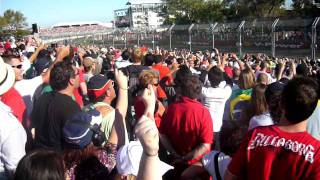 F1 2009 Melbourne Grand Prix start
