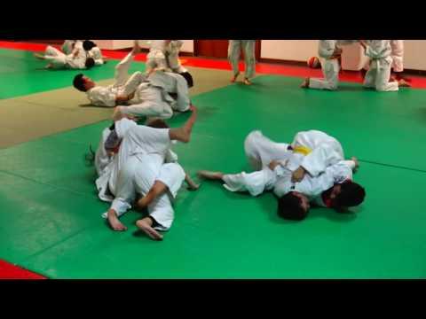 Judo Force: Treino de Conjunto 10-12 anos MAR2017