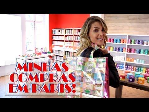 MINHAS COMPRAS EM PARIS! | ANA HICKMANN