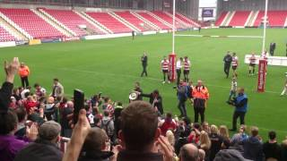 Leigh Centurions championship winning celebration(2)