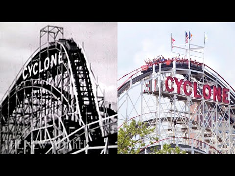 A Hundred Years of Coney Island: Then and Now | The New Yorker